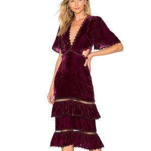 Tularosa Kaylee Dress in Plum - BRAND NEW